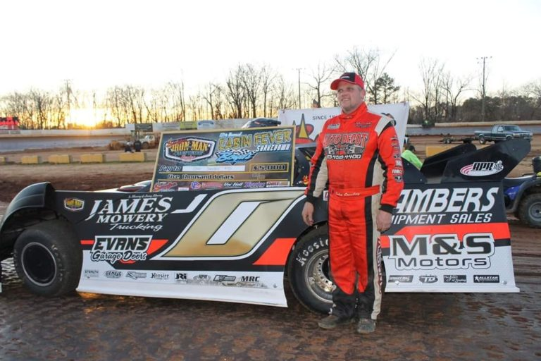 John Ownbey wins the Cabin Fever @ Boyd's Speedway